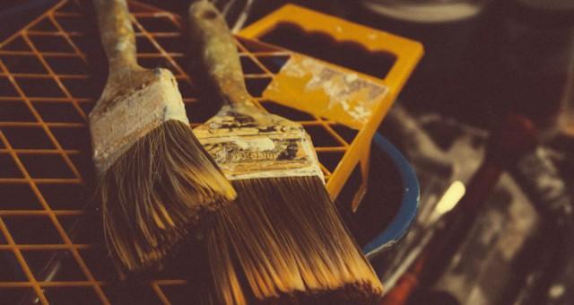 Korkböden versiegeln – Wo ein Genie ist, da finden sich Werkzeuge